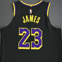 LeBron James - Los Angeles Lakers- Game-Worn Earned Edition Jersey - Recorded a Double-Double - 2020-21 NBA Season