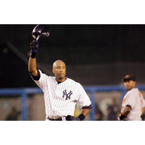 Photo of LOT #4: Memorable Moment: New York Yankees Great Bernie Williams Personalized Special Recorded Video Message