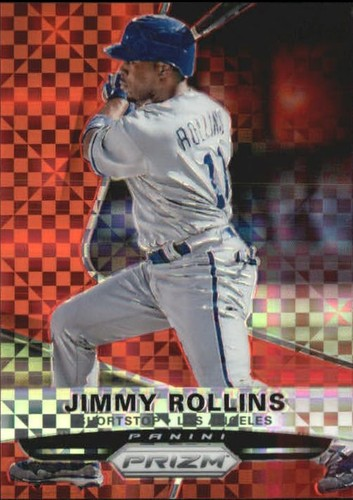 Photo of 2015 Panini Prizm Prizms Red Power #84 Jimmy Rollins