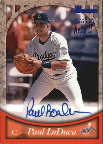 Photo of 1999 Bowman Autographs #BA36 Paul LoDuca B