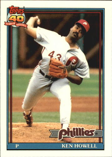 Photo of 1991 Topps Tiffany #209 Ken Howell