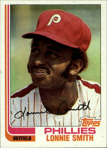 Photo of 1982 Topps #127 Lonnie Smith