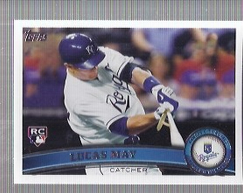 Photo of 2011 Topps #91 Lucas May RC