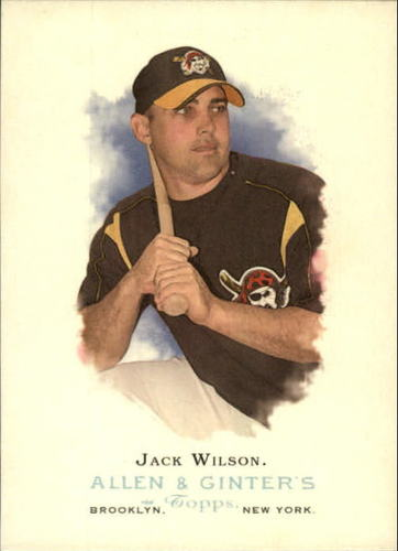 Photo of 2006 Topps Allen and Ginter #63 Jack Wilson