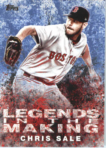 Photo of 2018 Topps Legends in the Making #LTMCS Chris Sale