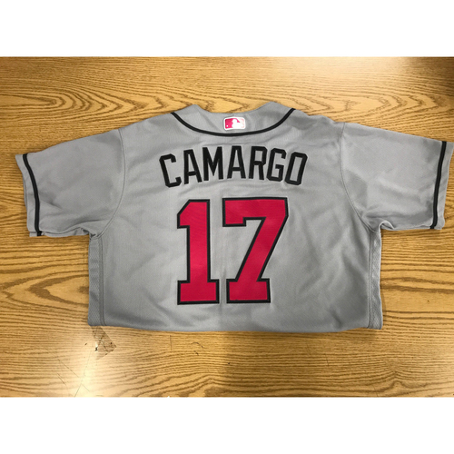 Photo of Johan Camargo Team-Issued Mother's Day Jersey