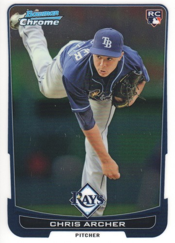 Photo of 2012 Bowman Chrome #70 Chris Archer RC