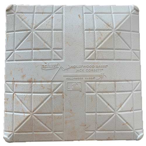 Photo of 2019 Minnesota Twins Game-Used Base (March) - PRESALE: Choose your Game Date!