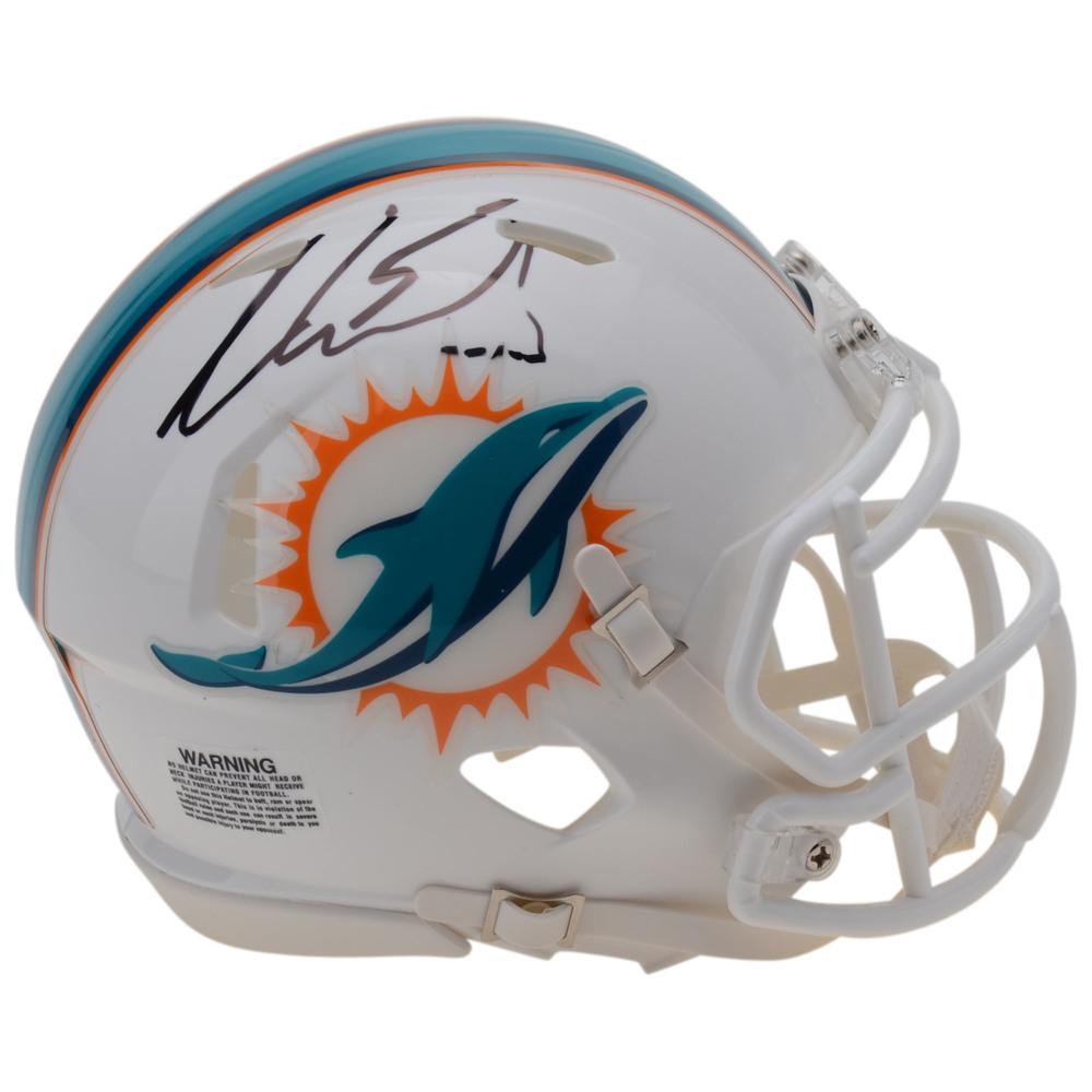 Aaron Ekblad Florida Panthers Autographed Miami Dolphins Mini Helmet
