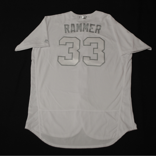 "Photo of Neil ""RAMMER"" Ramirez Toronto Blue Jays Game-Used 2019 Players' Weekend Jersey"