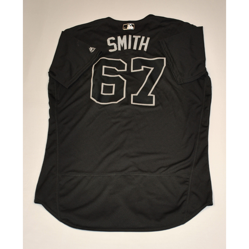 Photo of Josh Smith Boston Red Sox Game-Used 2019 Players' Weekend Jersey