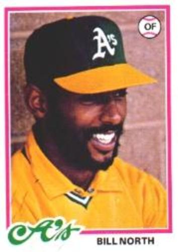 Photo of 1978 Topps #163 Bill North