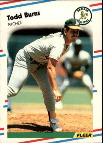 Photo of 1988 Fleer Update #52 Todd Burns