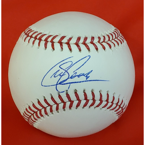 Photo of Sean Casey Autographed Baseball