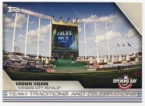 Photo of 2020 Topps Opening Day Team Traditions and Celebrations #TTC6 Crown Vision