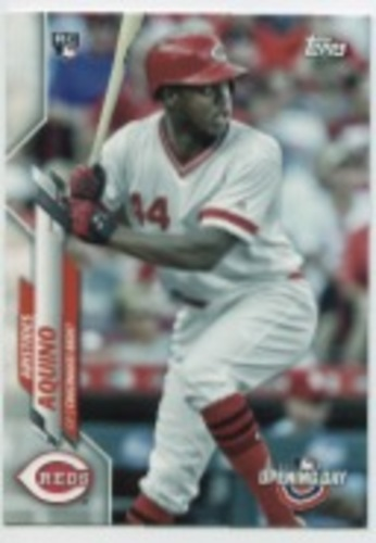 Photo of 2020 Topps Opening Day #147 Aristides Aquino RC
