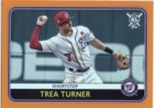Photo of 2020 Topps Big League Orange #86 Trea Turner