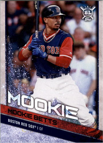 Photo of 2018 Topps Big League Players Weekend Photo Variations #159 Mookie Betts