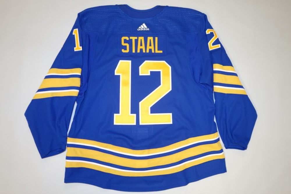 Eric Staal 2020-21 Buffalo Sabres Set 2 Home Jersey