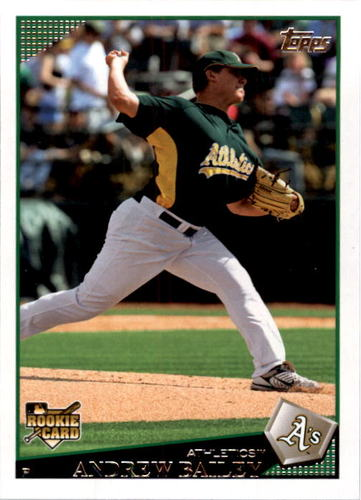 Photo of 2009 Topps #441 Andrew Bailey RC