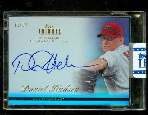 Photo of 2012 Topps Tribute Autographs #DH1 Daniel Hudson
