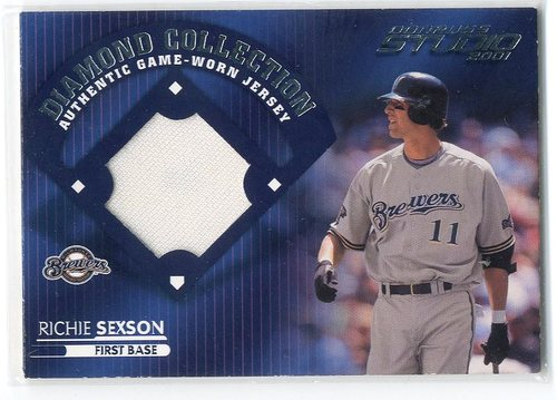 Photo of 2001 Studio Diamond Collection #DC48 Richie Sexson