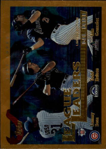 Photo of 2002 Topps Limited #346 Sosa/Helton/L.Gonz LL