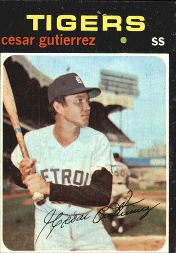 Photo of 1971 Topps #154 Cesar Gutierrez
