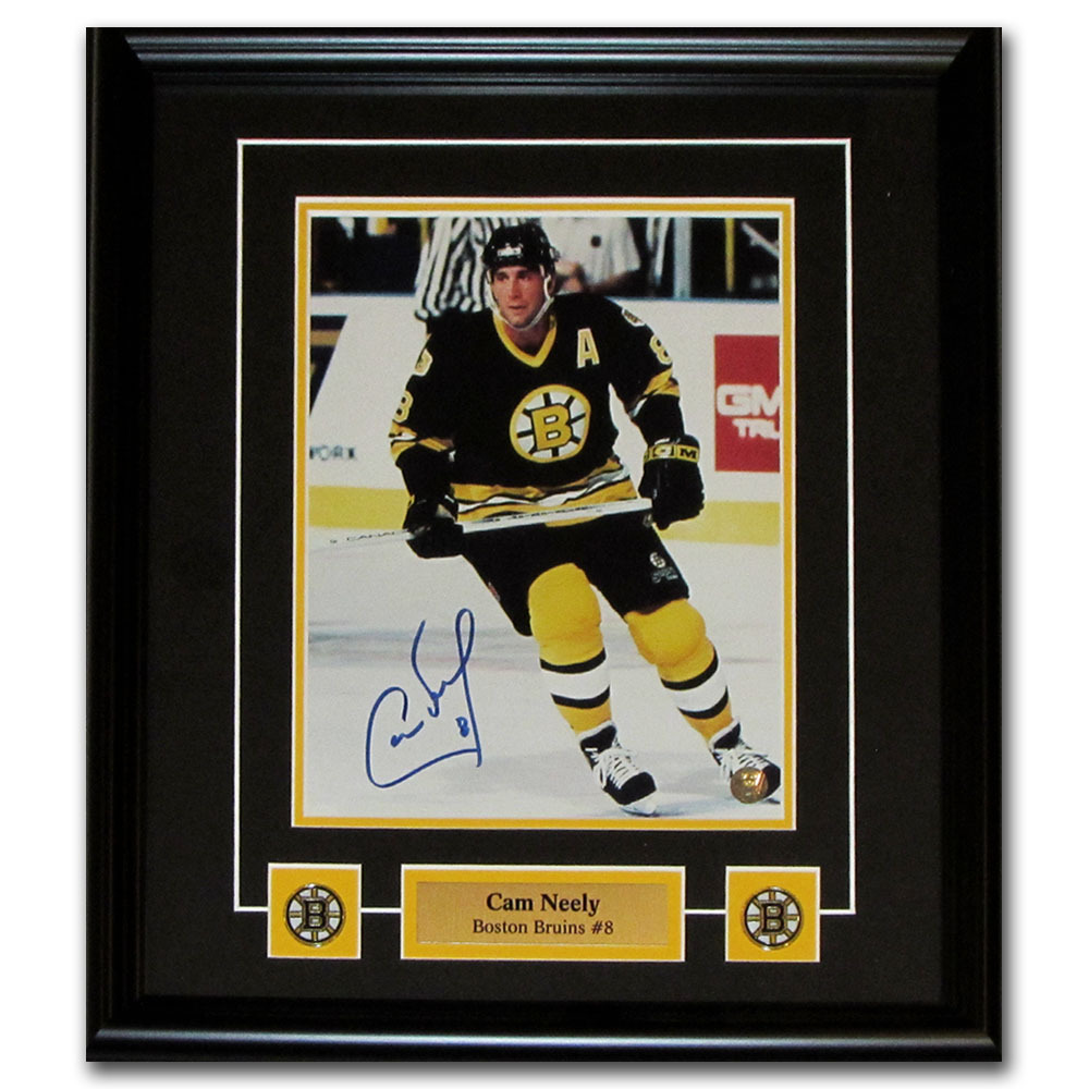 Cam Neely Autographed Boston Bruins Framed 8X10 Photo