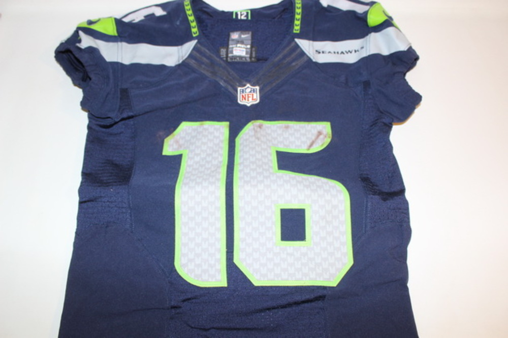 info for a179a 55f25 NFL Auction | BCA - SEAHAWKS TYLER LOCKETT GAME WORN ...