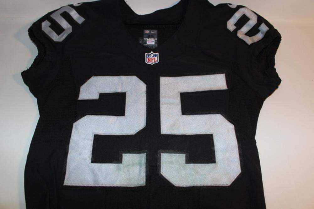 sale retailer a1e09 67b1c NFL Auction | BCA - RAIDERS D. J. HAYDEN GAME WORN AND ...