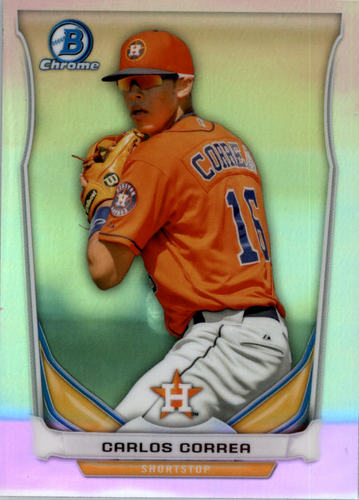 Photo of 2014 Bowman Chrome Draft Top Prospects Refractors #CTP3 Carlos