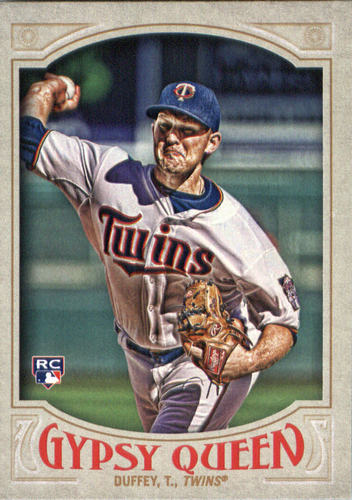 Photo of 2016 Topps Gypsy Queen #221 Tyler Duffey Rookie Card -- Twins post-season
