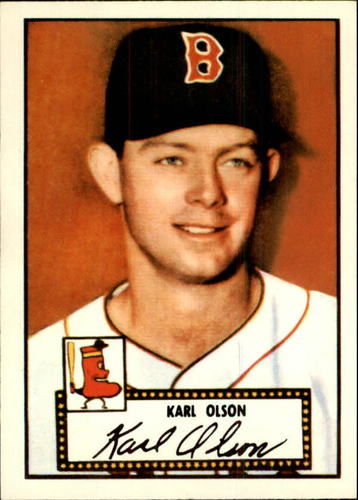 Photo of 1983 Topps 1952 Reprint #72 Karl Olson