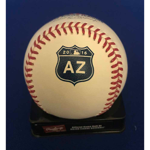 Photo of UMPS CARE AUCTION: Taijuan Walker Signed Spring Training Baseball - NOT MLB Authenticated
