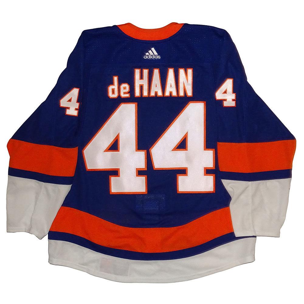 Calvin de Haan - Game Issued Home Jersey - 2017-18 Season - New York Islanders