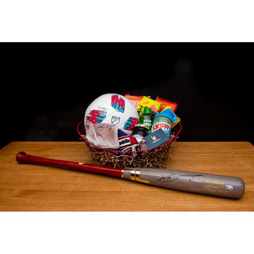 Photo of Xander Bogaerts Favorite Things Basket