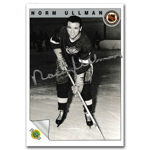240c3ea9bcb Norm Ullman Autographed 1991-92 Ultimate Original Six Hockey CardNorm  Ullman Autographed 1991-92 Ultimate Original Six Hockey Card