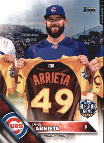 Photo of 2016 Topps Update #US4 Jake Arrieta AS