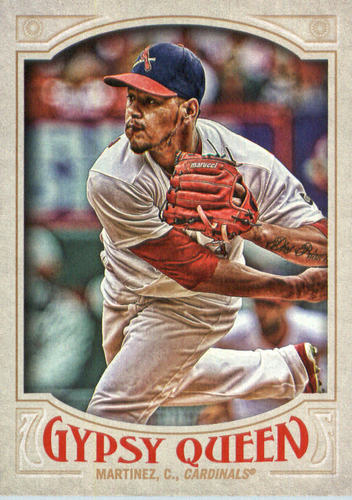 Photo of 2016 Topps Gypsy Queen #40 Carlos Martinez