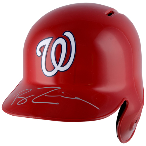 Photo of Ryan Zimmerman Washington Nationals Autographed Replica Batting Helmet