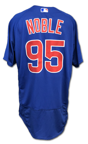 Photo of Chad Noble Team-Issued Jersey -- Size 46 -- Spring Training 2019
