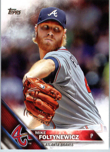 Photo of 2016 Topps #480 Mike Foltynewicz