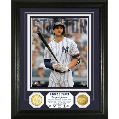 Photo of Giancarlo Stanton Bronze Coin Photo Mint