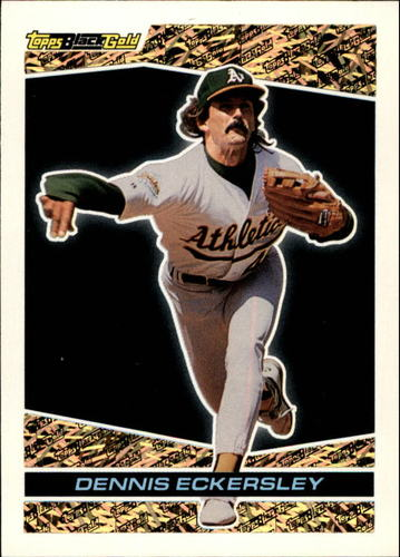 Photo of 1993 Topps Black Gold #29 Dennis Eckersley