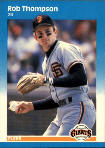 Photo of 1987 Fleer #285 Robby Thompson RC