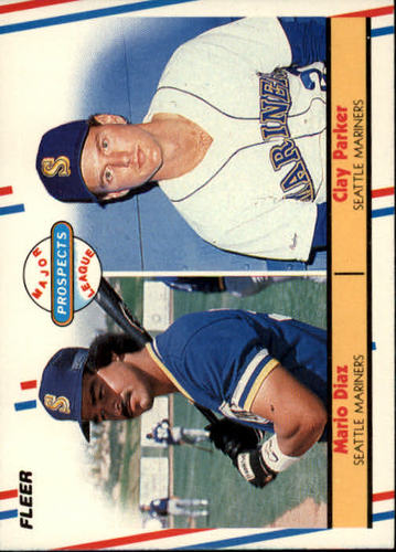 Photo of 1988 Fleer #649 Mario Diaz/Clay Parker RC