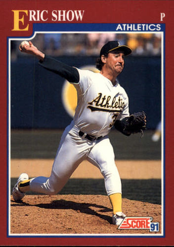 Photo of 1991 Score Rookie/Traded #64T Eric Show