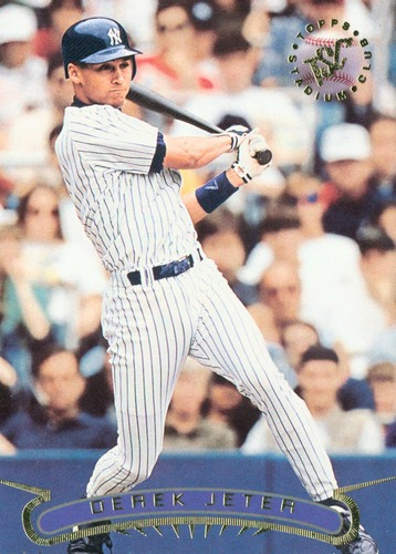 Photo of 1996 Stadium Club #123 Derek Jeter