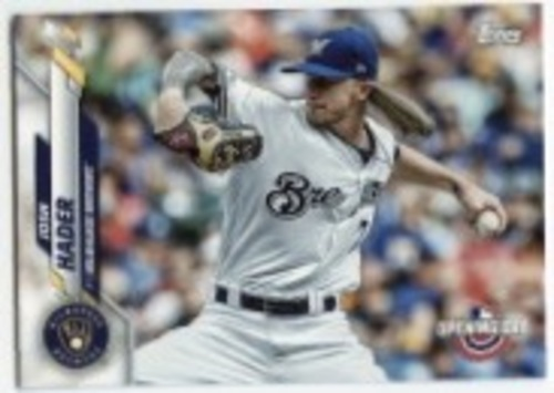 Photo of 2020 Topps Opening Day #153 Josh Hader